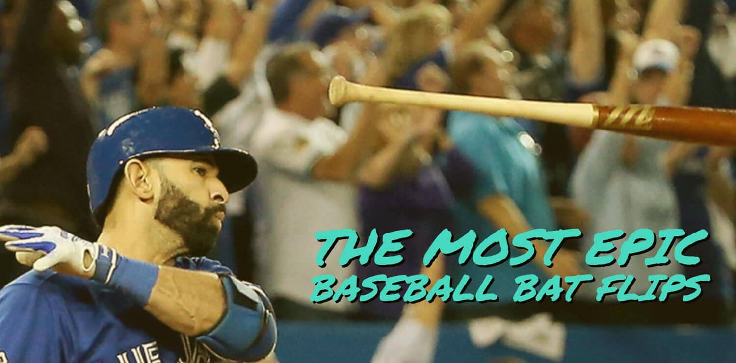 The Most Epic Baseball Bat Flips [With GIFs]
