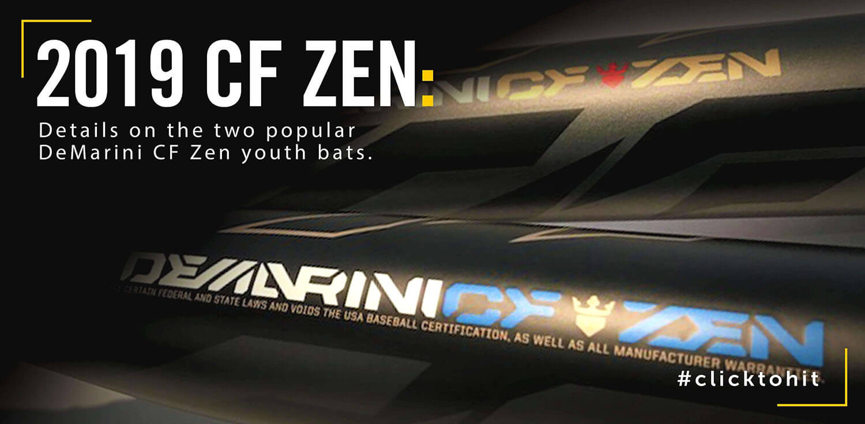 Bat Review: 2019 DeMarini CF Zen Youth Baseball Bats