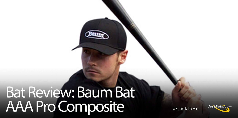 Bat Review: Baum Bat AAA Pro Composite Wood Baseball Bat