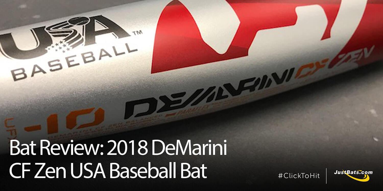 Bat Review: 2018 DeMarini CF Zen USA Baseball Bat