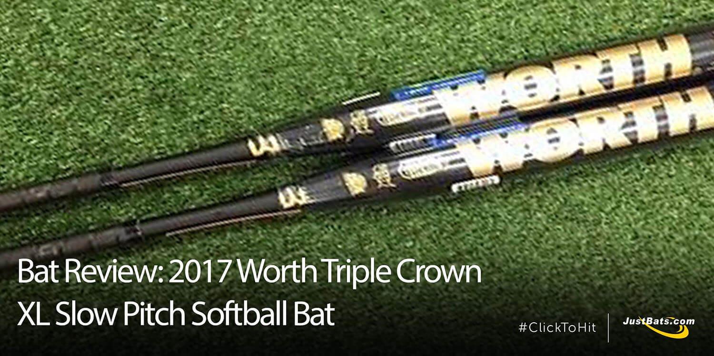 Bat Review: 2017 Worth Triple Crown XL Slow Pitch Softball Bat