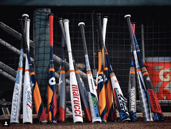 Bats at the College World Series