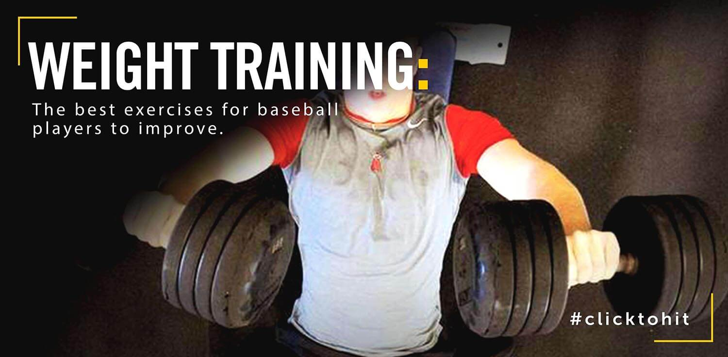 Best Weight Training Exercises For Baseball Players