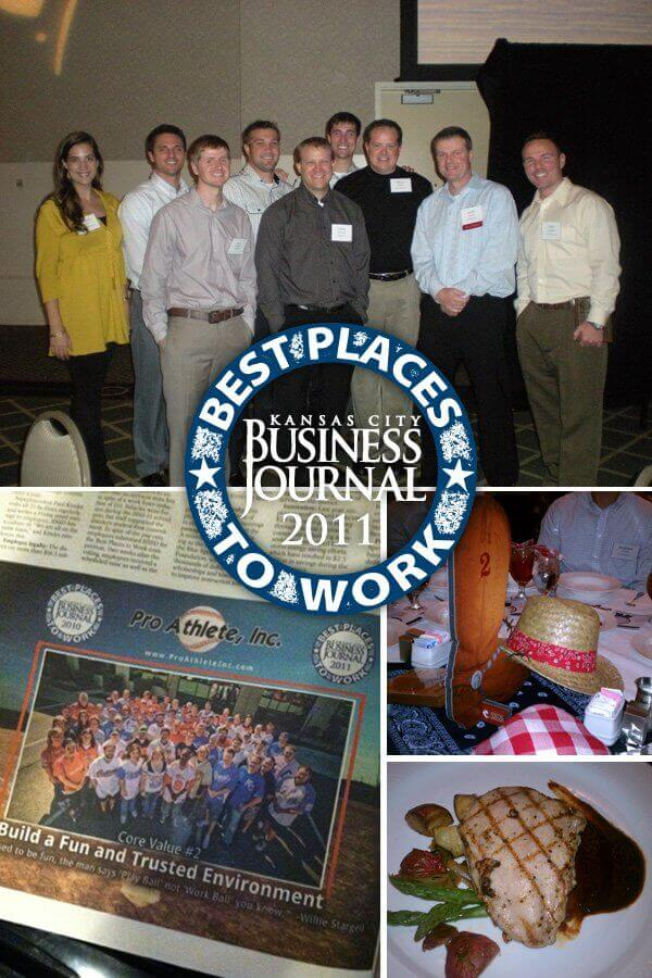 Our Second At Bat For the KC Business Journal's Best Place to Work in KC Challenge