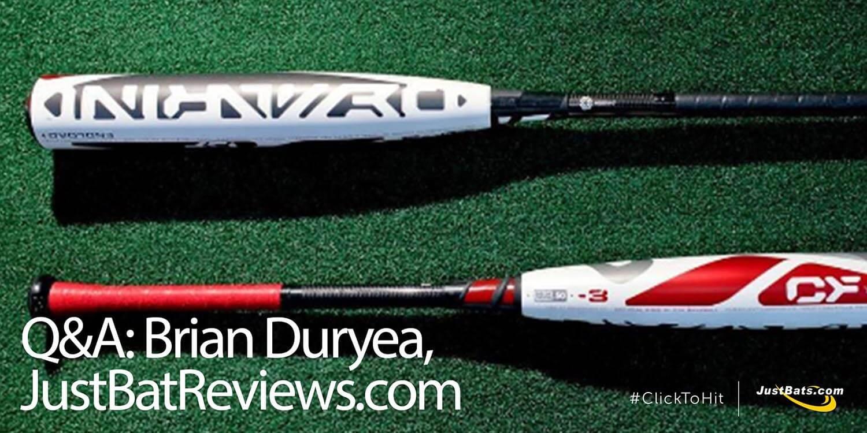 Q&A: Brian Duryea, JustBatReviews.com