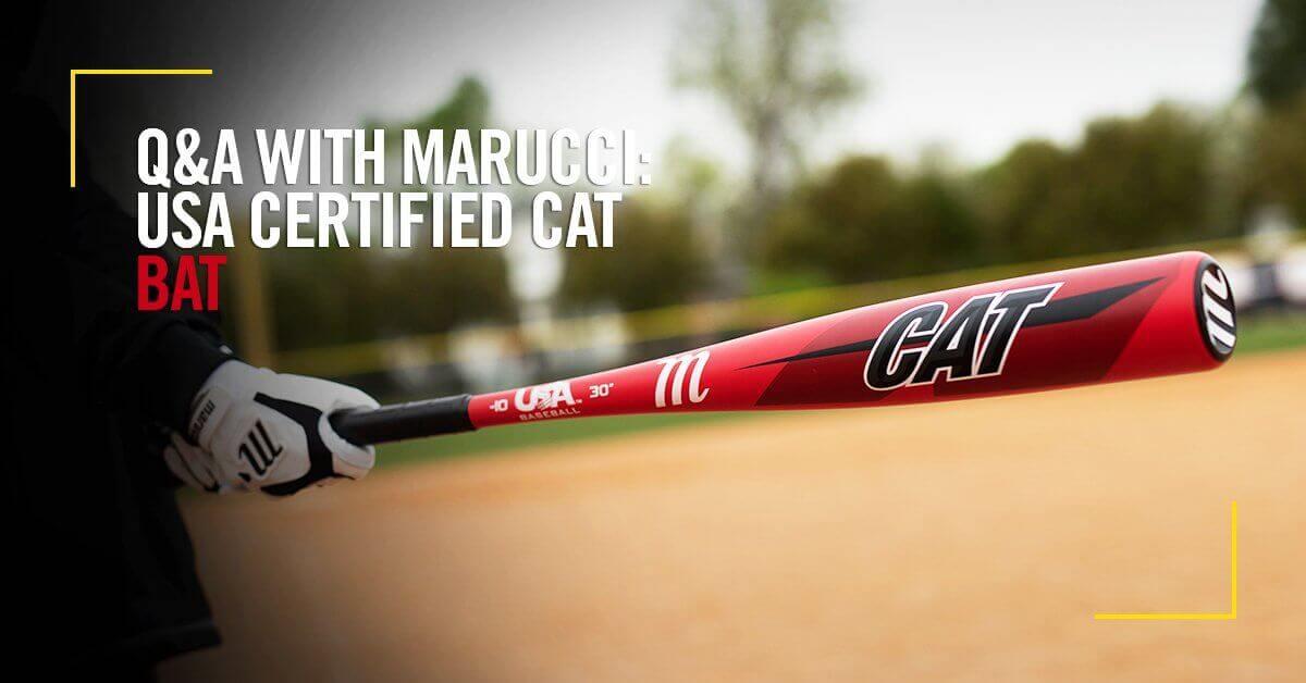 Q&A: Marucci USA Certified CAT Bat