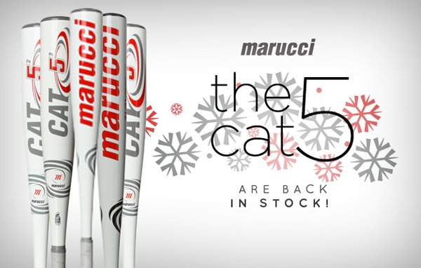 The Cat 5 Is Back In Stock!