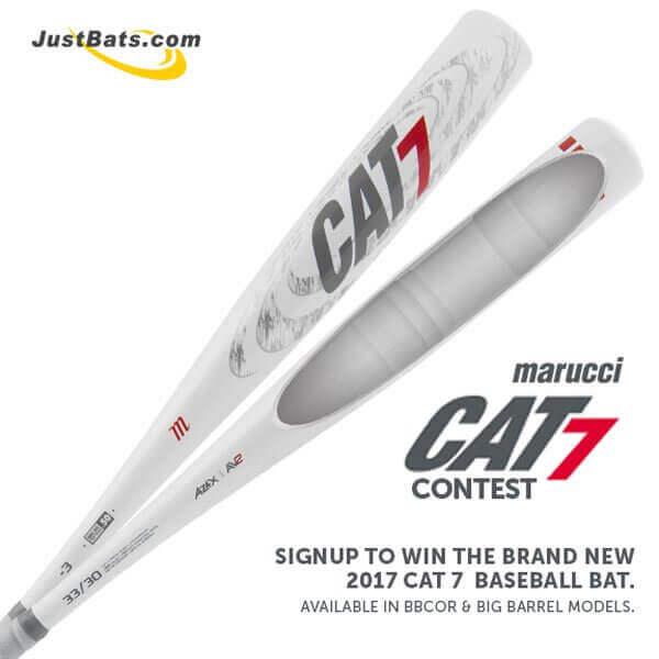 JustBats Marucci CAT 7 Giveaway Contest