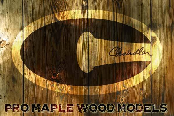 Chandler Pro Maple Wood Baseball Bats