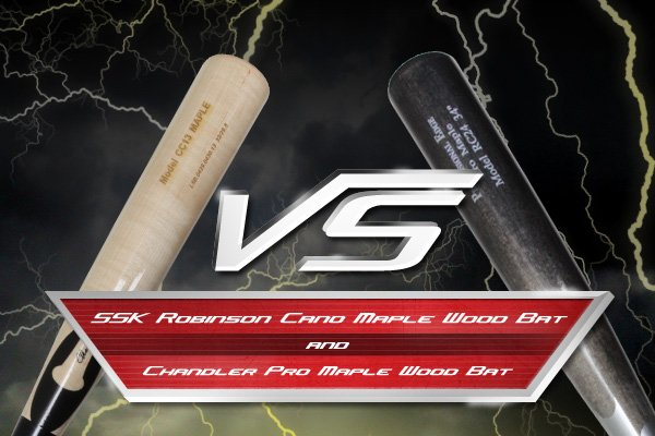 Wood Bat Duel: SSK Robinson Cano Maple RC24 vs. Chandler Pro Maple CC13