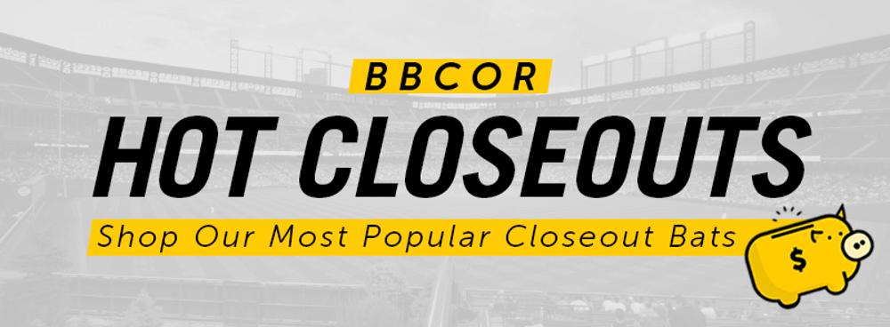 Closeout BBCOR Bats | BBCOR Closeout Bats