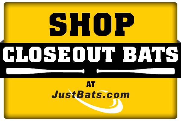 Shop Closeout Bats on JustBats.com