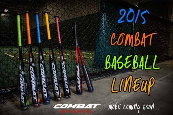 2015 COMBAT Baseball Bats