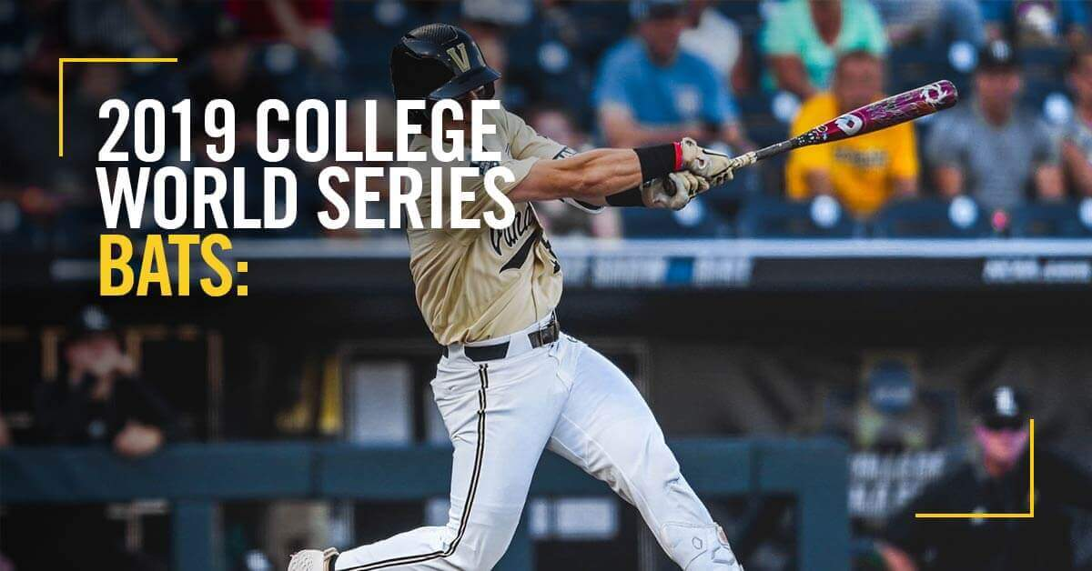 2019 College World Series Bats