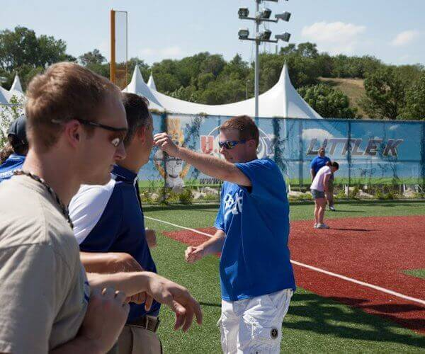 JustBats.com Plays Wiffle Ball At The K
