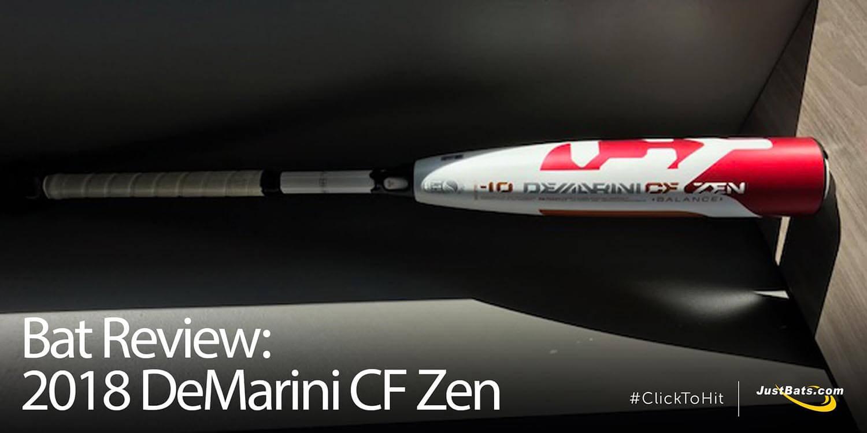 Bat Review: 2018 DeMarini CF Zen -10 Youth Big Barrel Bat (WTDXCBZ)