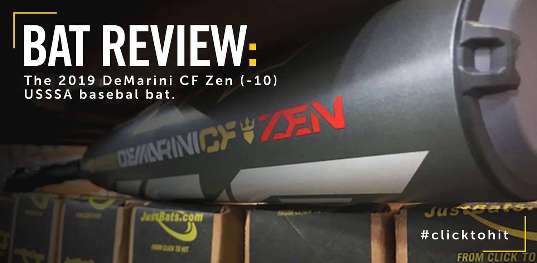 Bat Review: 2019 DeMarini CF Zen -10 USSSA Baseball Bat