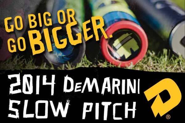 2014 DeMarini Slow Pitch Softball Bats