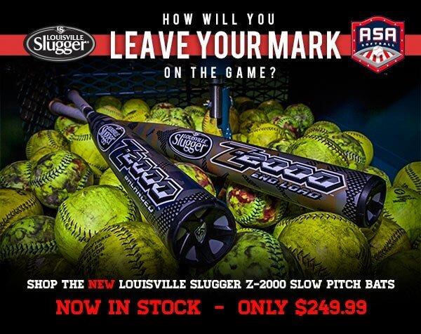 2014 Louisville Slugger Z-2000 Slow Pitch Bats