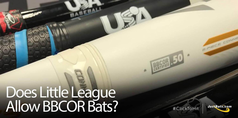 Does Little League Allow BBCOR Bats?