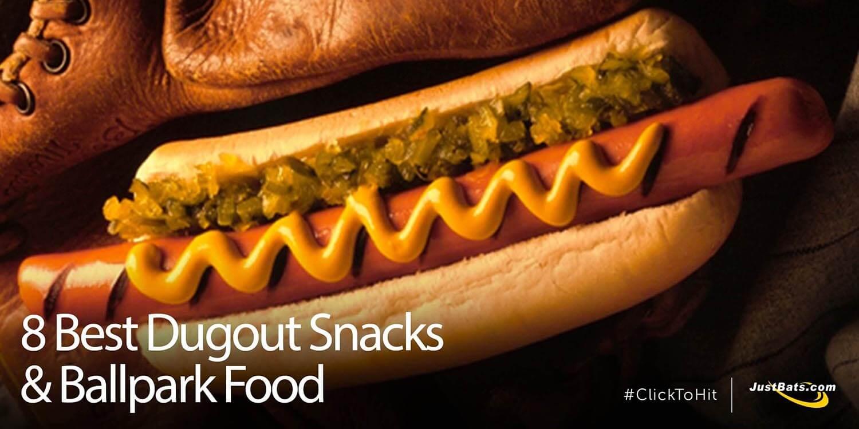 8 Best Dugout Snacks & Ballpark Food