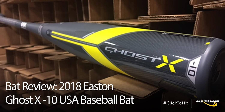 Bat Review: 2018 Easton Ghost X -10 USA Baseball Bat