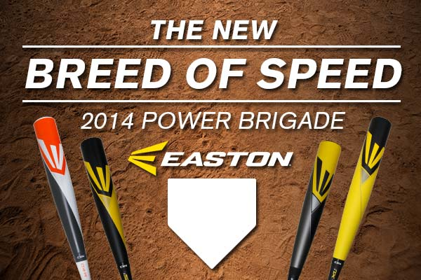 2014 Easton Power Brigade BBCOR Baseball Bats