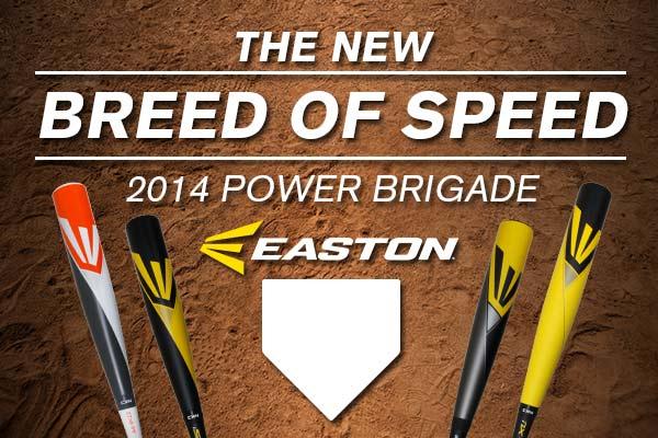 2014 Easton Power Brigade BBCOR Baseball Bats