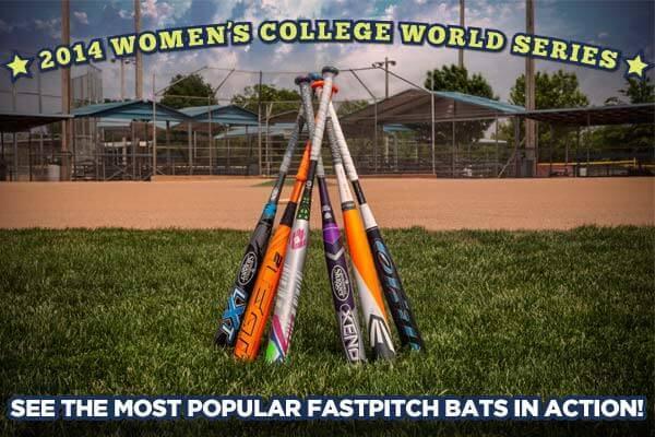 Women's College World Series Fastpitch Bats