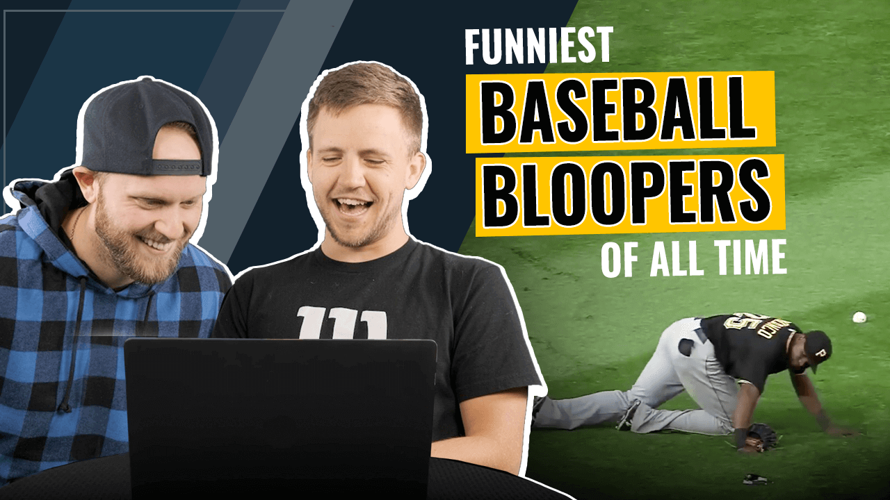 Funniest baseball bloopers of all time - YT