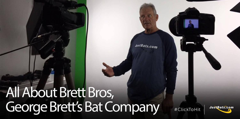 All About Brett Bros, George Brett's Bat Company