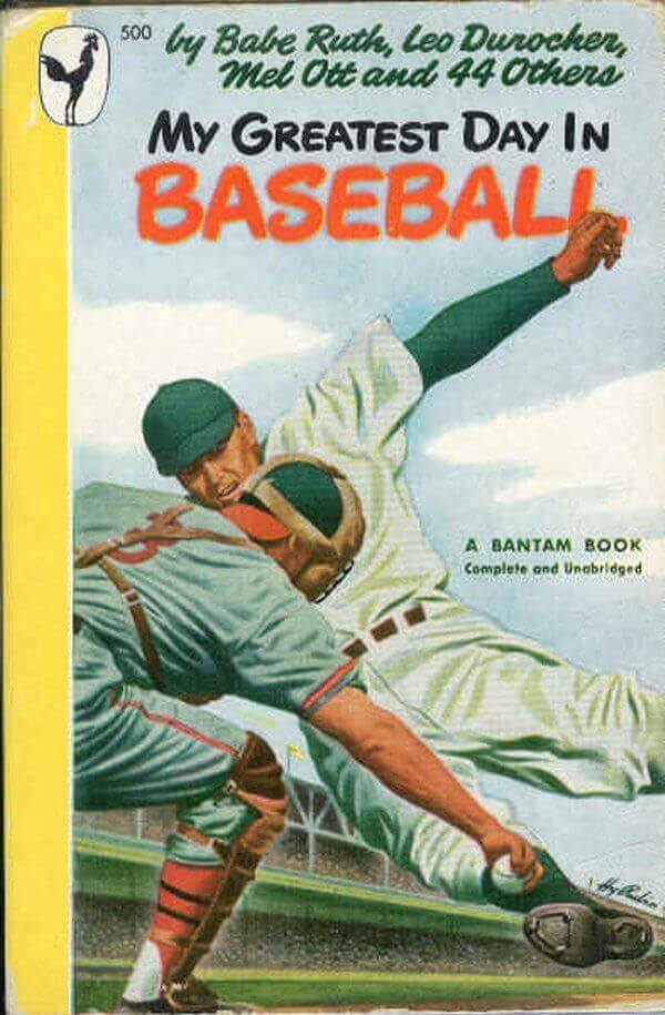 Classic Baseball Book Of The Month