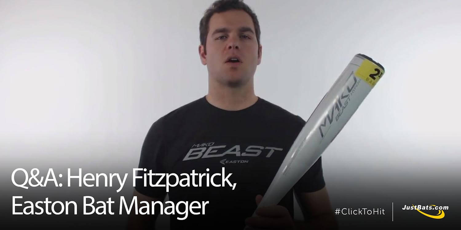 Q&A: Henry Fitzpatrick, Easton Bat Manager