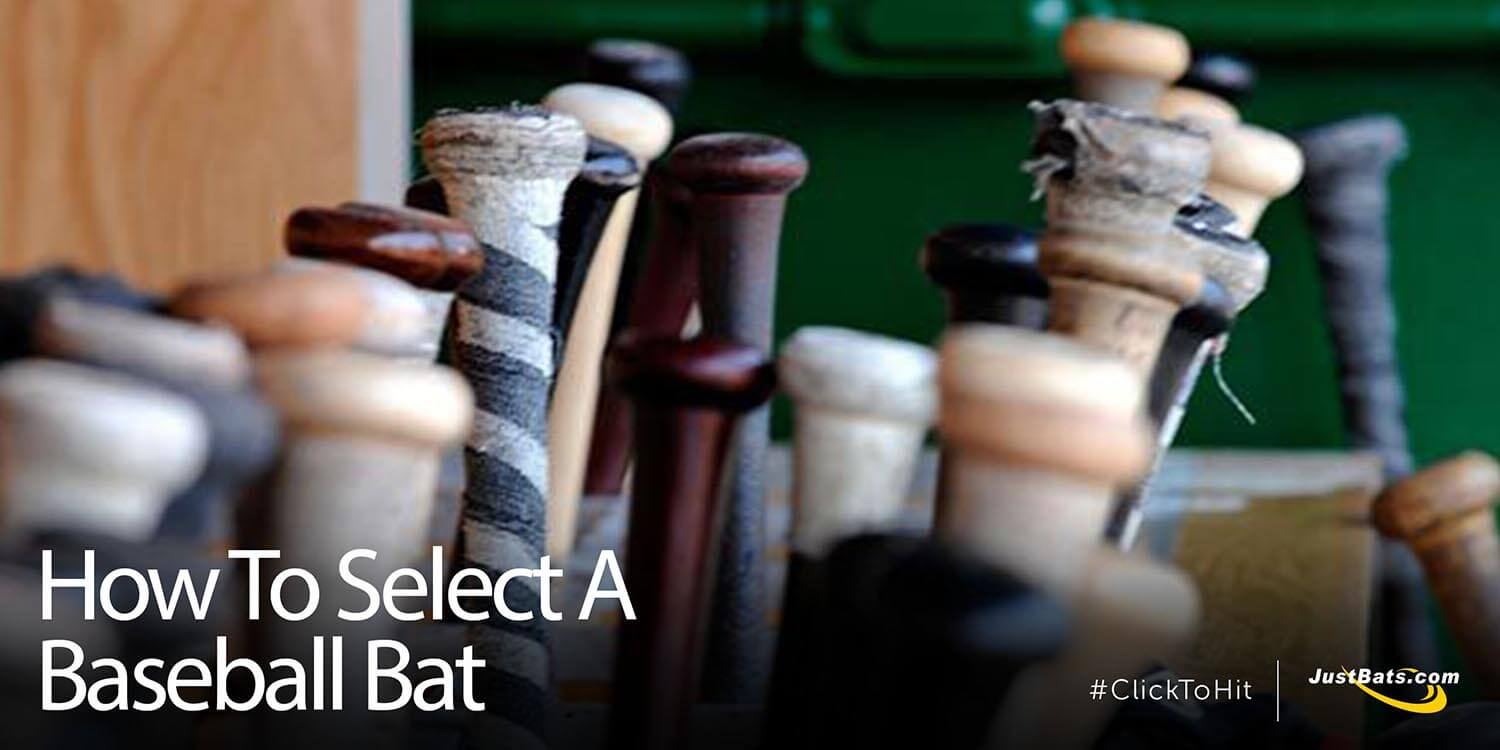 How To Select A Baseball Bat