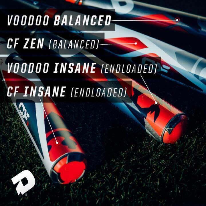 DeMarini CF and Voodoo Lineup