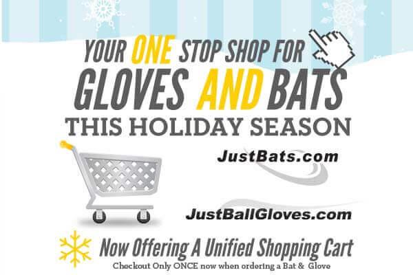 JustBats & JustBallGloves: One Stop Holiday Shopping