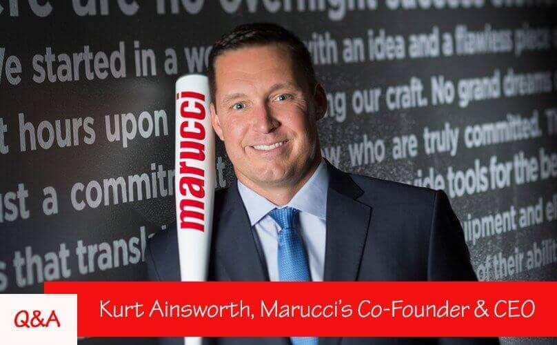 Q&A: Marucci's Co-Founder, Kurt Ainsworth