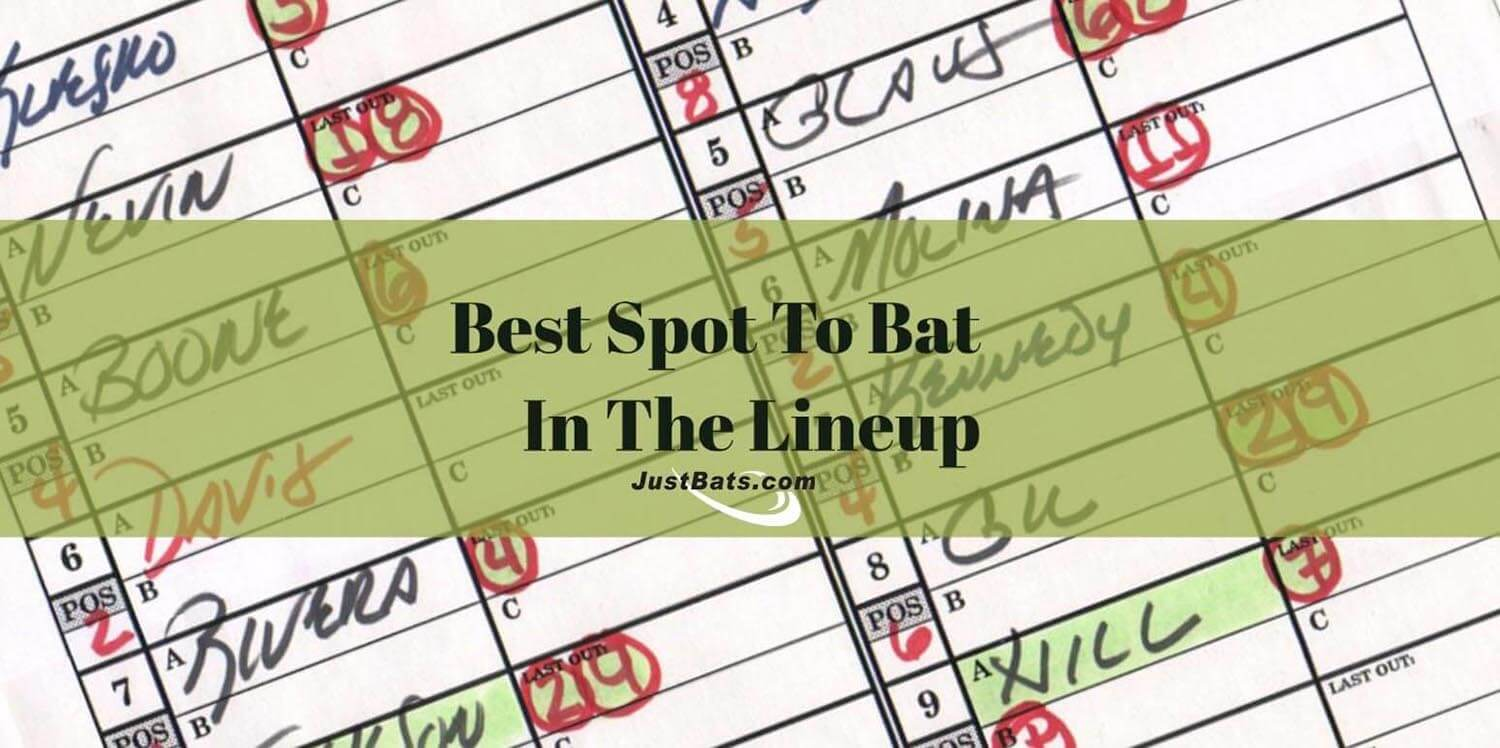 What Is the Best Spot to Bat in the Batting Order?