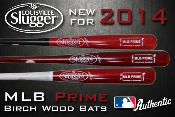 Louisville Slugger MLB Prime Birch Wood Bats