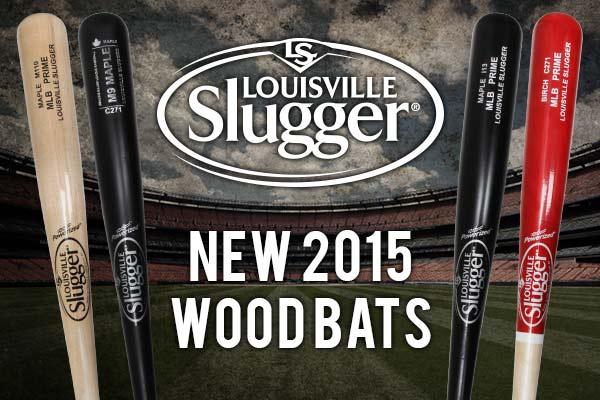 New Louisville Slugger Wood Baseball Bats