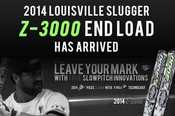 2014 Louisville Slugger Z-3000 End Load Has Arrived