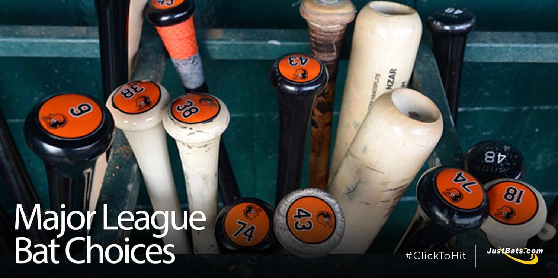 Major League Bat Choices