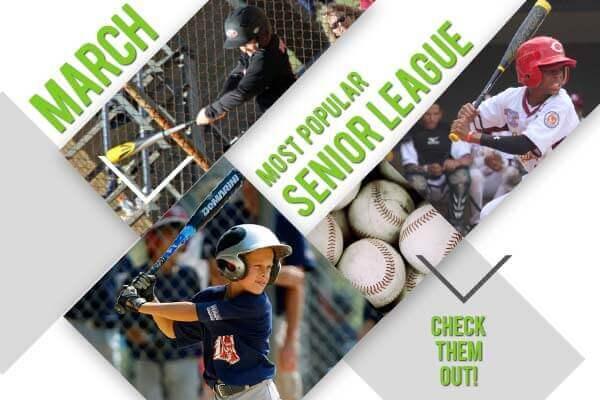 Top Senior League Bats of March