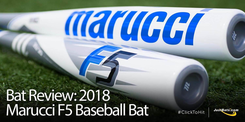 Bat Review: 2018 Marucci F5 Baseball Bat