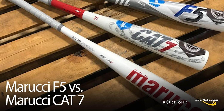 Marucci F5 vs. Marucci CAT 7