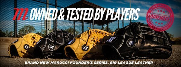 From Lumber to Leather: Introducing the Marucci Founders Series Gloves