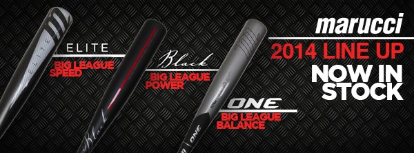 The 2014 Marucci Lineup is Now in Stock!