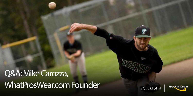 Q&A: Mike Carozza, WhatProsWear.com Founder