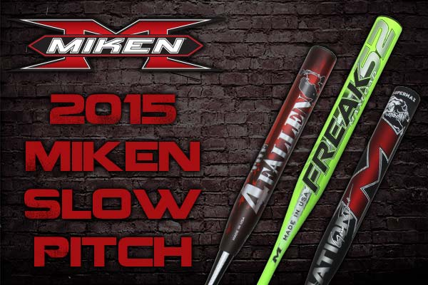New Additions to the 2015 Miken Slow Pitch Softball Lineup