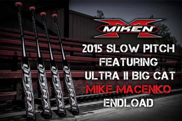 2015 Miken Ultra II Big Cat Endload SSUSA Senior Slow Pitch Softball Bat